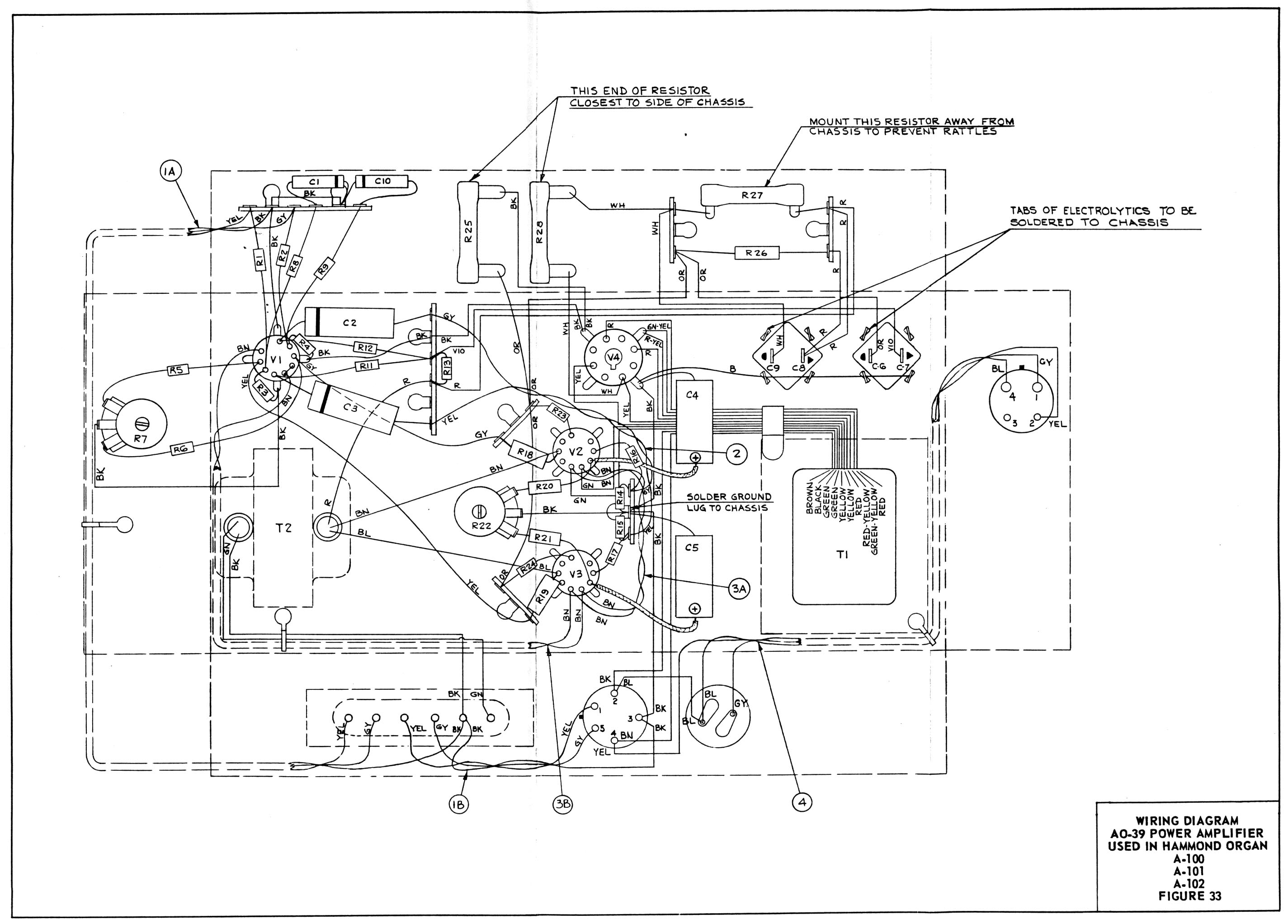 A 100 Service Manual Pilot Ke Controller Wiring Diagram Schematic 4