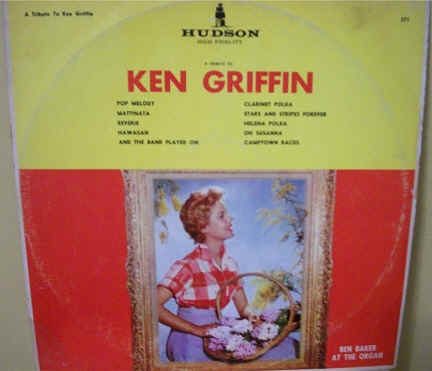 Ken Griffin Record Covers