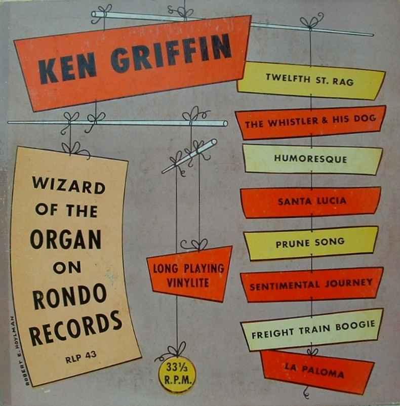 Ken Griffin - Ballad To A Lovely Lady / Lili Marlene