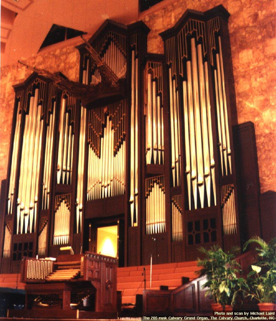 The Calvary Grand Organ