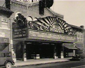 Redford Theatre's original marquee