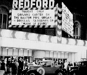 Gaylord Carter Marquee