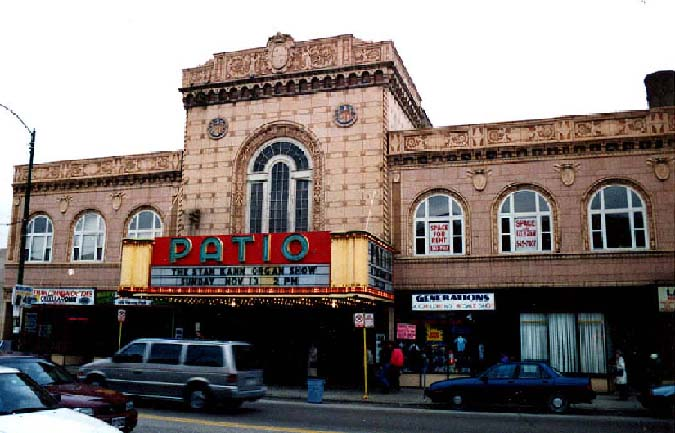 Image Of Exterior Front Of Patio Theatre