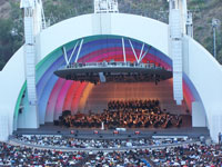 Click here to download a 2576 x 1932 JPG normal angle image of the Hollywood Bowl.
