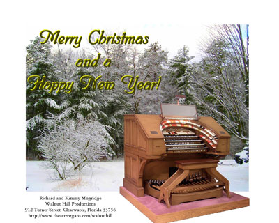 Click here to download a 1280 x 1024 greeting card from Walnut Hill wishing you a very Merry Christmas and Happy New Year!