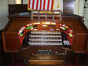 Click here to learn more about the 4/33 Mighty Moller Theatre Pipe Organ installed at the New York Military Academy.
