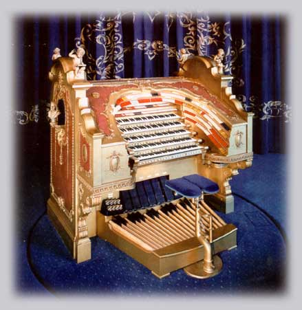 Click here to visit the website of the world's largest privately owned WurliTzer Theatre Pipe Organ, in the Place de la Musique Salon at Jasper Sanfilippo's Victoria Palace, van der Mer Manor.