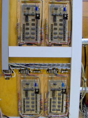 Click here to download a 1536 x 2048 JPG image showing the Z-Tronics relay controlling the 3/12 Grande Page Theatre Pipe Organ.
