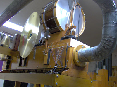 Click here to download a 2048 x 1536 JPG image showing some of the neat toys installed in the 3/12 Grande Page Theatre Pipe Organ.