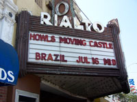 Click here to download a 2576 x 1932 JPG image of the marquee at the legendary Rialto Theatre where George Wright played the Style 216 2/10 Mighty WurliTzer Theatre Pipe Organ.