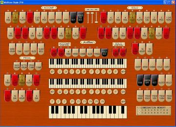 The Mighty MidiTzer, a Virtual WurliTzer Style 216 Theatre Pipe Organ for your Windows PC. Created by Jim Henry, it is played by over 2,500 people world wide!