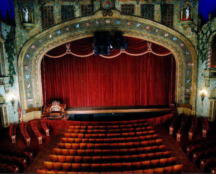1896 First Movie Theater in the United States