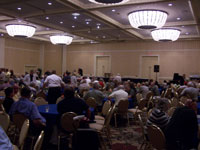 Click here to download a 2576 x 1932 JPG image of the crowd at the Final Reception and Awards Ceremony.
