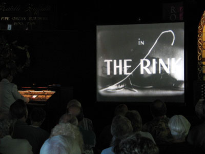 Click here to download a 640 x 480 JPG image showing Tom Hoehn accompanying 'The Rink'.