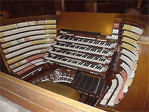 Click here to learn more about the West Point Chapel Pipe Organ.